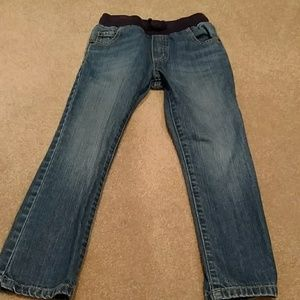 Boys straight leg pull on Gymboree jeans size 6